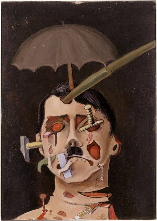 Brauner's portrait of Hitler, 1934.